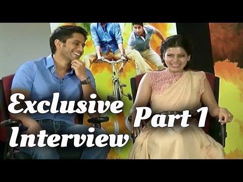 Samantha & Naga Chaitanya Exclusive Interview Part 1 - Manam Movie