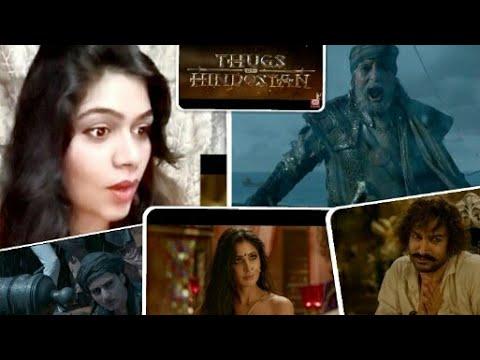 Download Thugs Of Hindostan Trailer Reaction | Amitabh Bachchan| Aamir Khan| Katrina Kaif| Smile With Garima