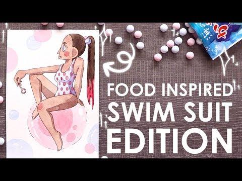 14 SNACK INSPIRED SWIM SUITS - TokyoTreat Unboxing
