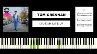 Tom Grennan - Make My Mind Up (BEST PIANO TUTORIAL & COVER)