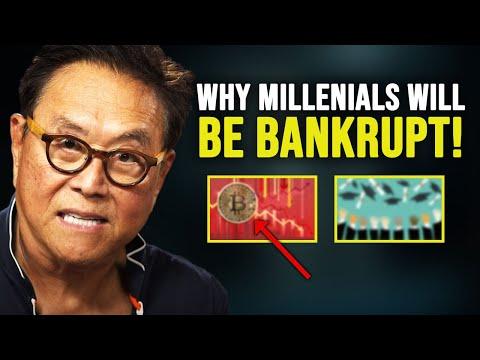 Why Millennials Will Be Bankrupt! Robert Kiyosaki