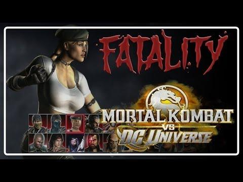 Mortal Kombat VS DC Universe -  FATALITY