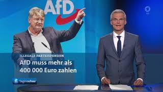 Illegale Parteispenden: AfD soll mehr als 400.000 Euro zahlen