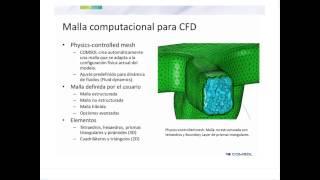 Modelado de dinámica de fluidos computacional (CFD) en procesos multifísicos (4.4)