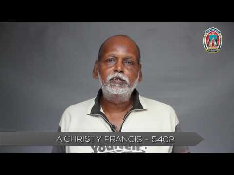 NADIGAR SANGAM | MEMBERS VIDEO | A.CHRISTY FRANCIS - 5402.mp4