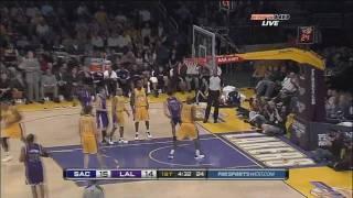 Omri Casspi 23Pts-9Reb Vs Lakers (01.01.2010) [HD]