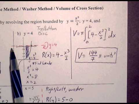 Calculus AB Ch 7 2 Quiz Review (1 of 2)