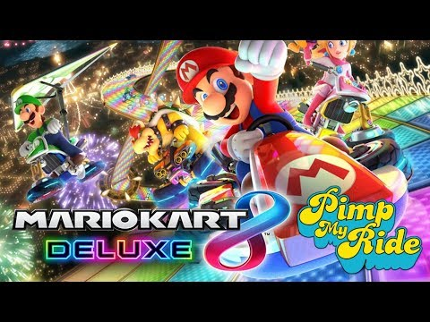 Renegade Game Time - Mario Kart 8 Deluxe (Community Game Day) (Pimp My Ride Challenge)
