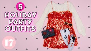 5 Super Sparkly Holiday Party Outfits | Seventeen