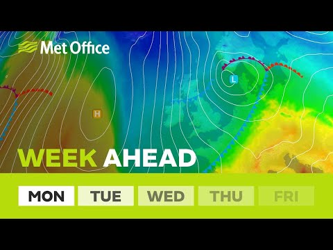 Week Ahead – Dry for many, much colder later