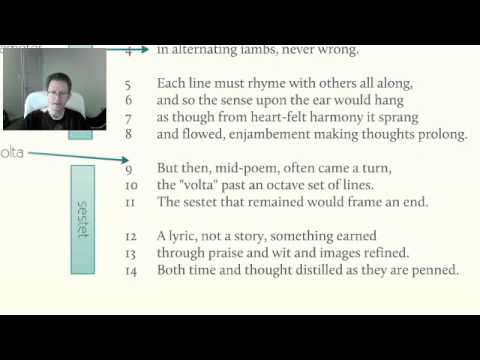 an introduction to the analysis of a sonnet Sonnet analysis essay examples  a literary analysis of sonnet number three by william shakespeare  an introduction to the life and literature of william.