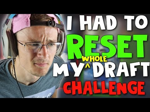 MADDEN 17 RESET DRAFT CHAMPIONS CHALLENGE!! (This Actually Worked!!) Madden 17 Draft Champions