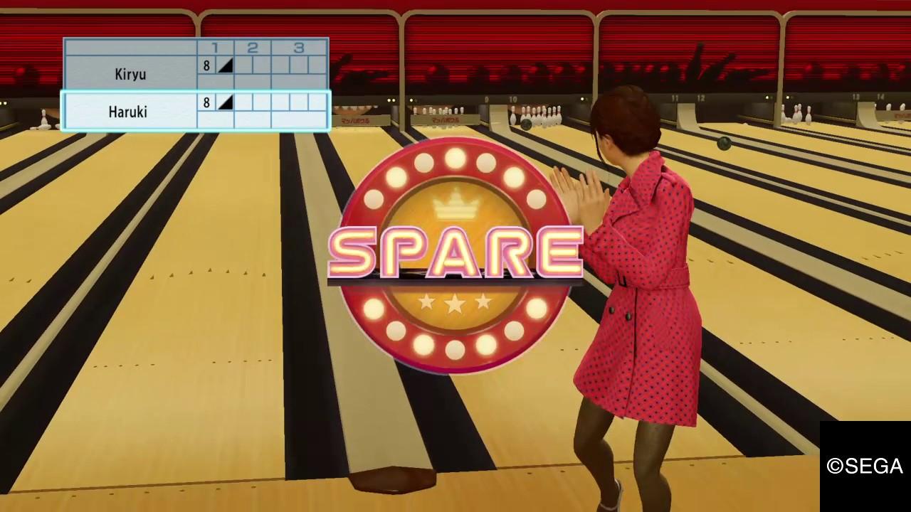 YAKUZA 0_ Bowling Date with Haruki. - YouTube