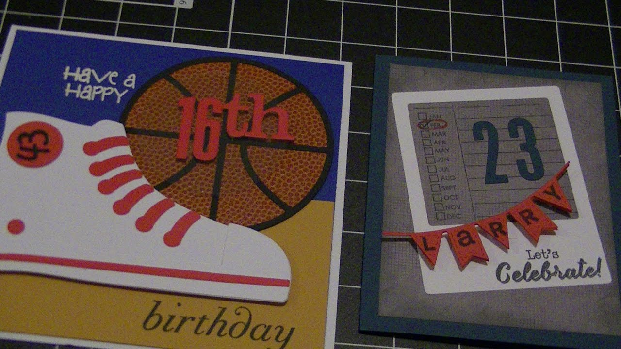 Mens Birthday Cards For Facebook ~ Making birthday cards for men youtube