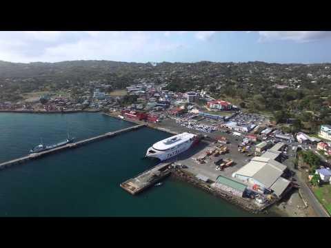 160303 Scarborough Port - Tobago