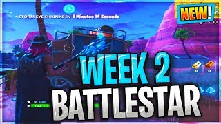 SECRET BANNER BATTLE STAR WEEK 2 LOCATION - Fortnite Battle Royale (Hunting Party Challenges)