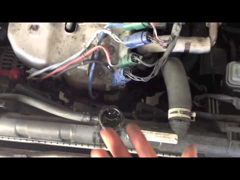 2002 Nissan Sentra Radiator Drain YouTube