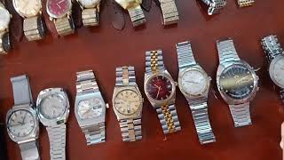 10/3/19. Bán 9 đồng hồ Automatic Thụy sỹ cổ. Thân hợp kim. Toàn 0947350055.