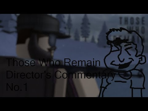 Commentary on the new Roblox game, Those Who Remain |