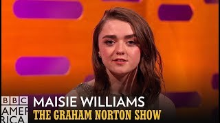 Maisie Williams Adds Tom Hanks and Anthony Joshua to Arya's Kill List - The Graham Norton Show