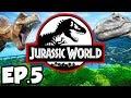 Jurassic World: Evolution Ep.5 - RAISING DINOSAURS COMFORT & FACILITY RATING (Gameplay / Let's Play)