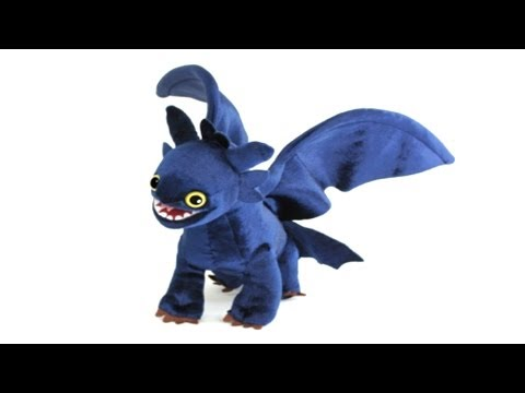 Toothless Night Fury How To Train Your Dragon Plush Review Youtube