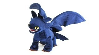 TOOTHLESS NIGHT FURY - How to Train Your Dragon Plush Review