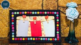 Photo frame DIY Ideas | How to make Easy Photo Fra