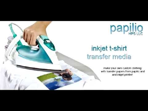 how to print your photo or image on your t shirt at home youtube