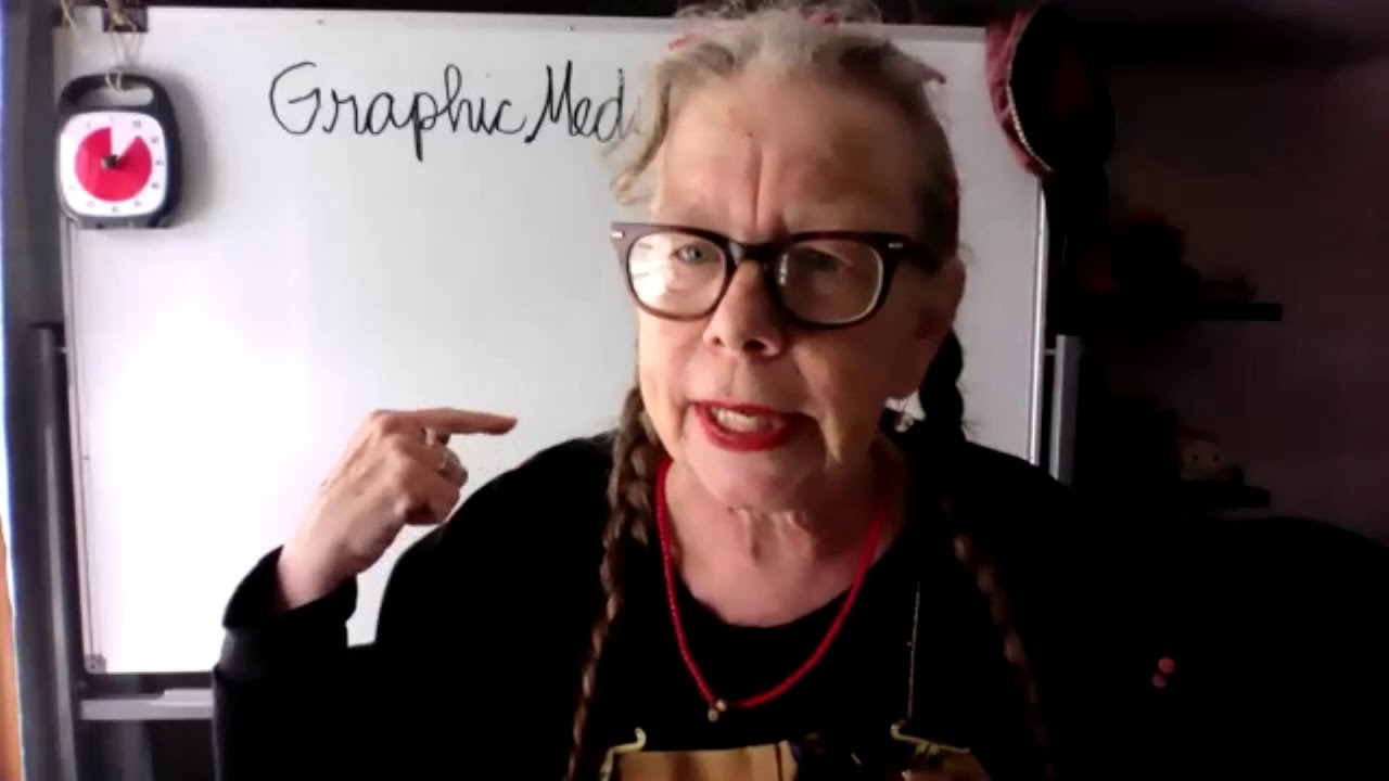 Watch Cartoonist Lynda Barry's Two-Hour Drawing Workshop