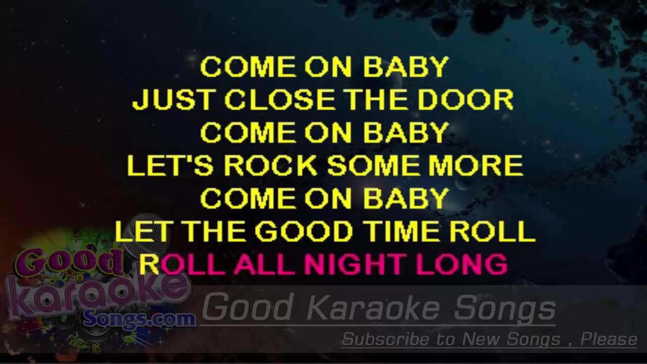 Let The Good Times Roll - Brad Paisley (Lyrics Karaoke) [  goodkaraokesongs com ]