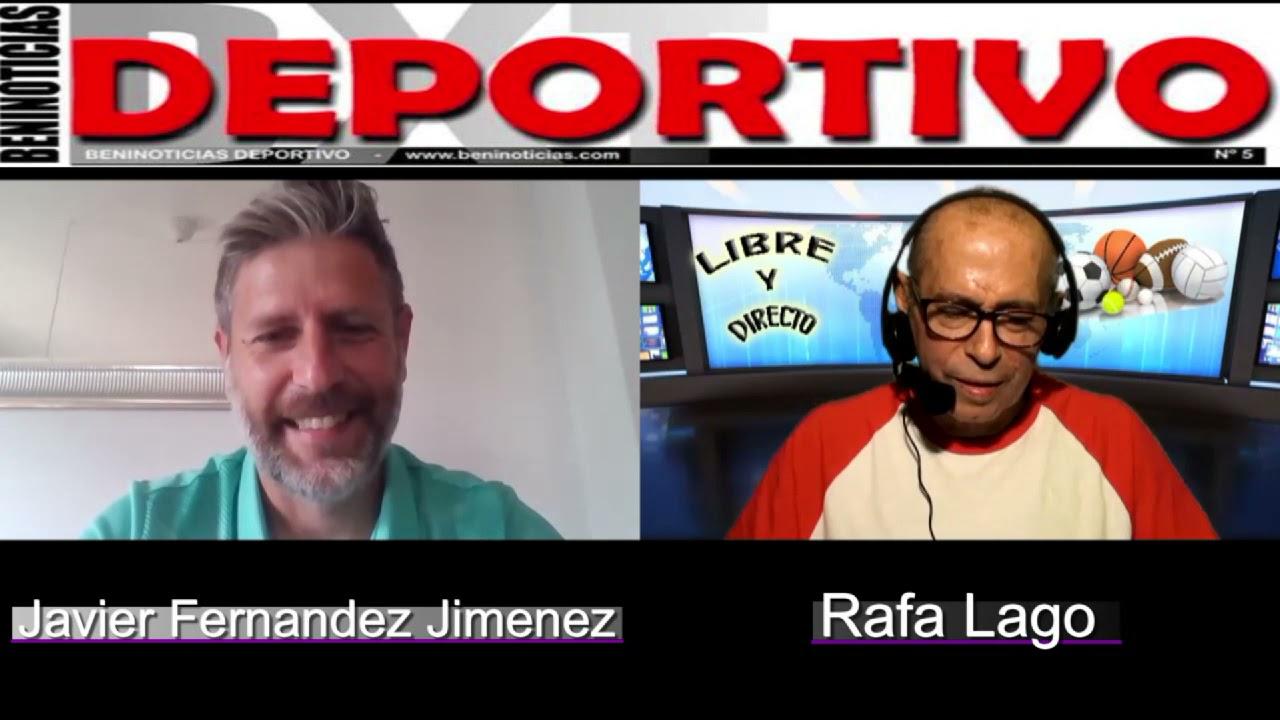 Entrevista a Javier Fernández, entrenador de Benidorm en el Intercity