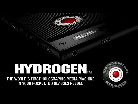 RED Announces Hydrogen Smartphone