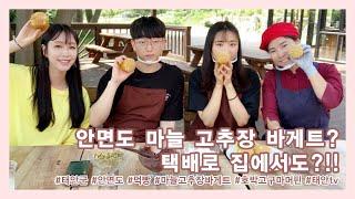 태안TV - 안면도 마늘 고추장 바게트?!(Live)