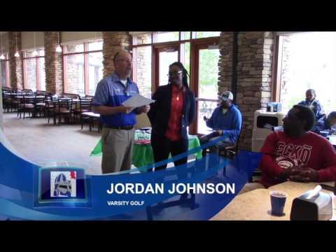 Jordan Johnson Award Ceremony Fountain Fort Carson High School Golf 2017 5/18/2017