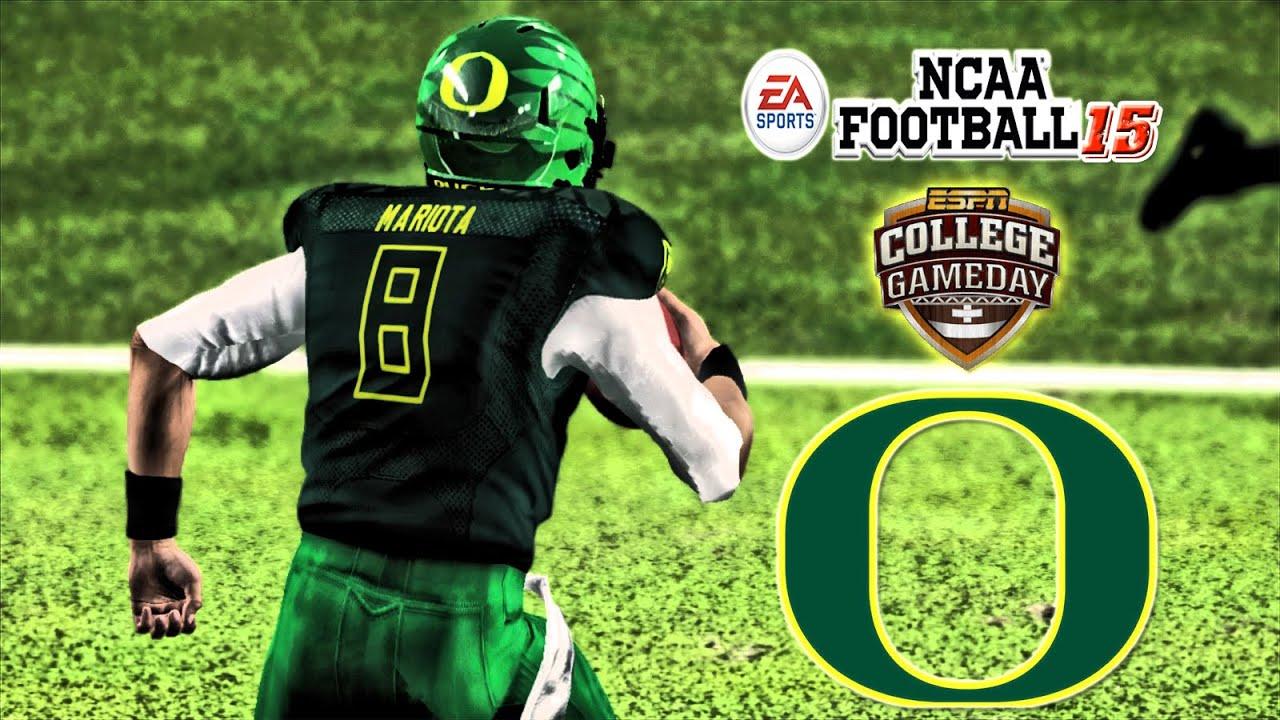 big sale 0345c 0e1de NCAA Football 15 - (XB360) - 60fps - | Stanford at (4) Oregon | Marcus  Mariota Go!