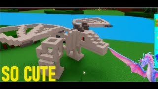 🐲*Tutorial* How to make a Baby Dragon / Wyvern!🐲| Roblox Build a Boat