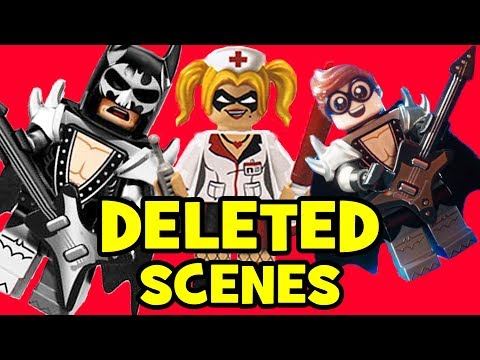 Lego Batman Movie DELETED SCENES & Rejected Concepts