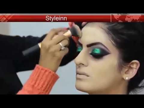 Mehndi Night Makeup : Beautiful mehndi bridal makeup tutorial youtube