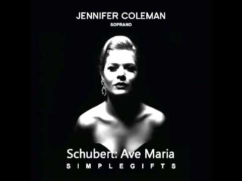 Franz Schubert: Ave Maria - Jennifer Coleman Soprano and Leos String Quartet - Simple Gifts EP