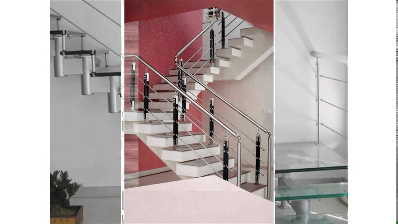 Attirant Steel Handrails For Stairs   YouTube