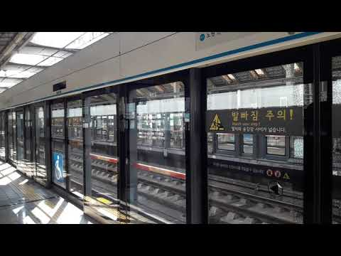 서울교통공사4호선 458편성 S4316 당고개행 상계역 진입 및 발차영상