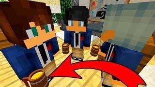 Школьники Пьют в Пустой Школе Секретная Школа в Майнкрафт. Мультик 100 Ловушки