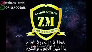 Zaadul Muslim Ya Rasulullah Syair Clean
