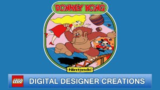 Donkey Kong   Lego Digital Designer Creations