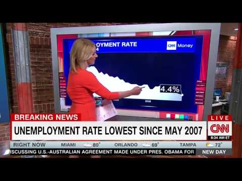 "CNN Highlights ""Strong"" & ""Solid"" April Jobs Report With ""Lowest Unemployment Rate"" In 10 Years"