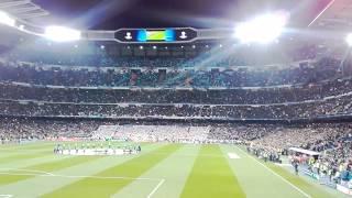 Real PSG, Hala Madrid et hymne de la ligue des champions