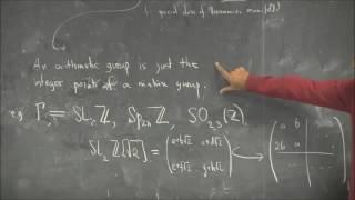 UCLA Department of Mathematics Distinguished Lecture Series - Akshay Venkatesh November 16, 2016