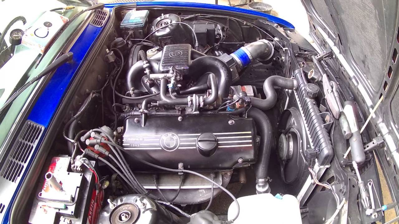 Bmw E30 Low Idle
