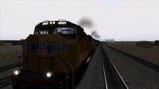 Train Simulator 2013 Sherman Hill Gameplay (PC HD)